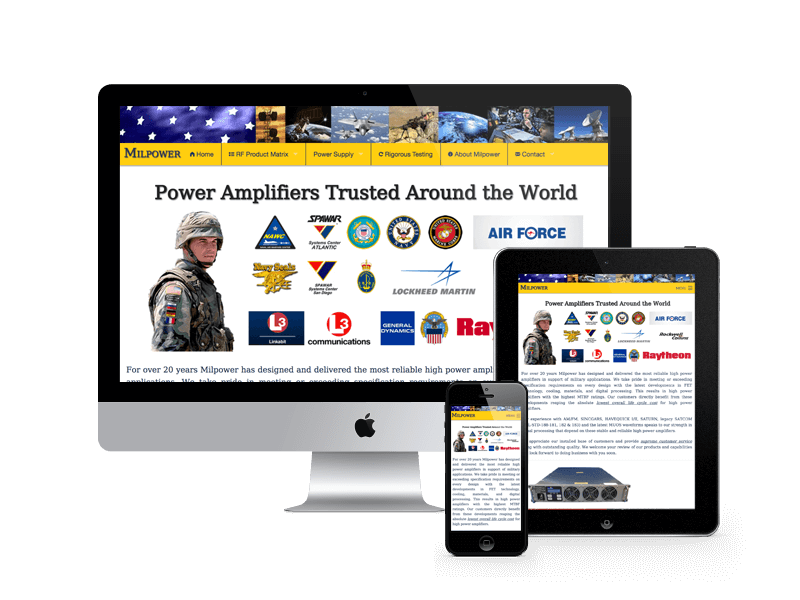 Milpower Website