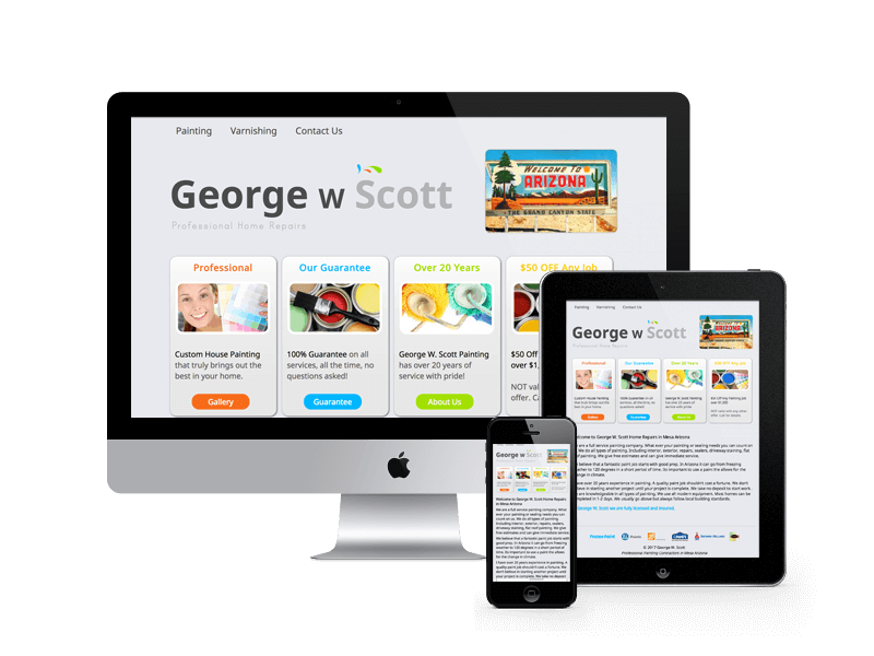 Scott Home Repair Website