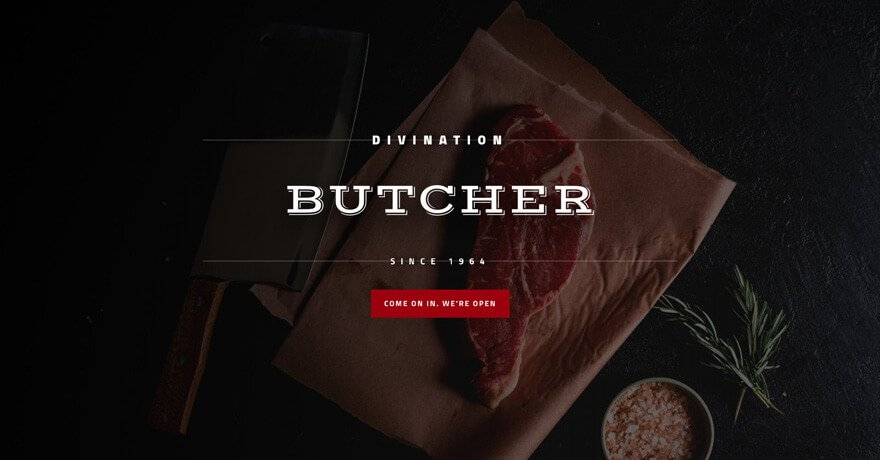 Butcher Website