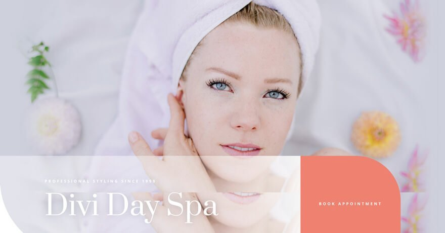 Day Spa Website