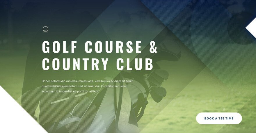 Golf Course Website